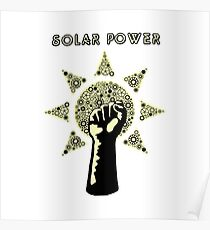 Solar Power to the People! Poster