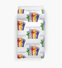 Human Rights Duvet Cover