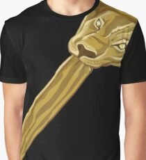 COMMING TO AMERICA - KING JAFFE JOFFER LION HEAD Graphic T-Shirt