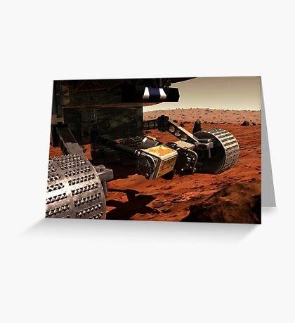 Eine Nahansicht des Arms auf NASAs Mars 2003 Rover. Grußkarte