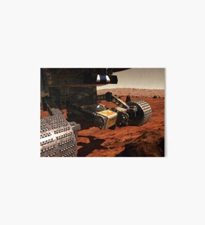 Eine Nahansicht des Arms auf NASAs Mars 2003 Rover. Galeriedruck