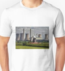Leverton Windmill and West Burton Power Station T-Shirt