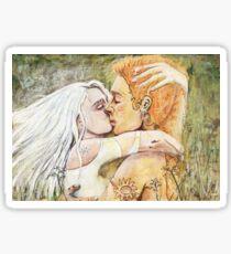 Elfen Kuss Sticker