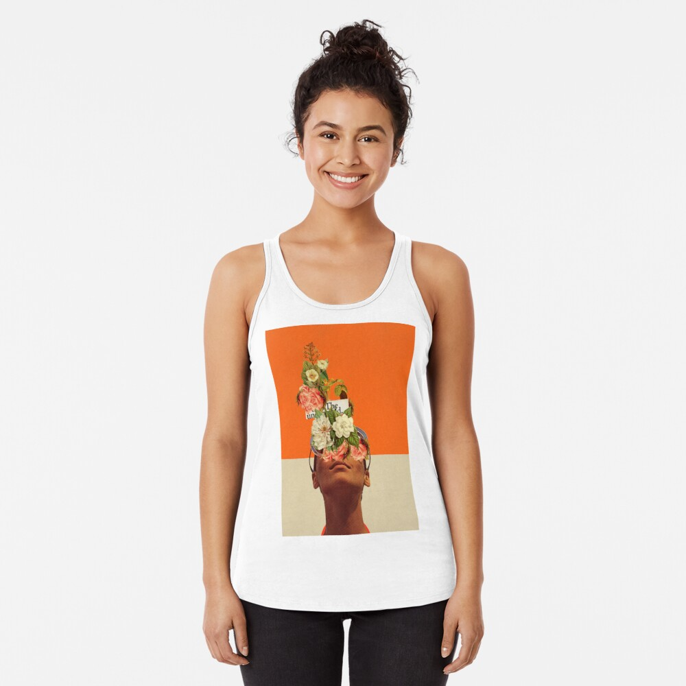 The Unexpected Racerback Tank Top