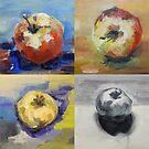 Vier Äpfel am Tag ... von Christel  Roelandt