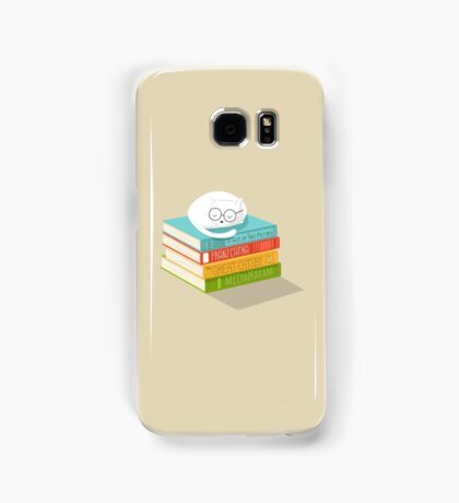 The Cat Loves Books Samsung Galaxy Case/Skin