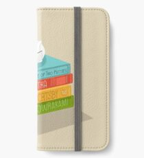 The Cat Loves Books iPhone Wallet/Case/Skin