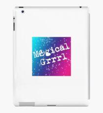 Magical GRRRRRRL iPad-Hülle & Klebefolie