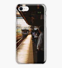 Golden Hour Train iPhone Case/Skin