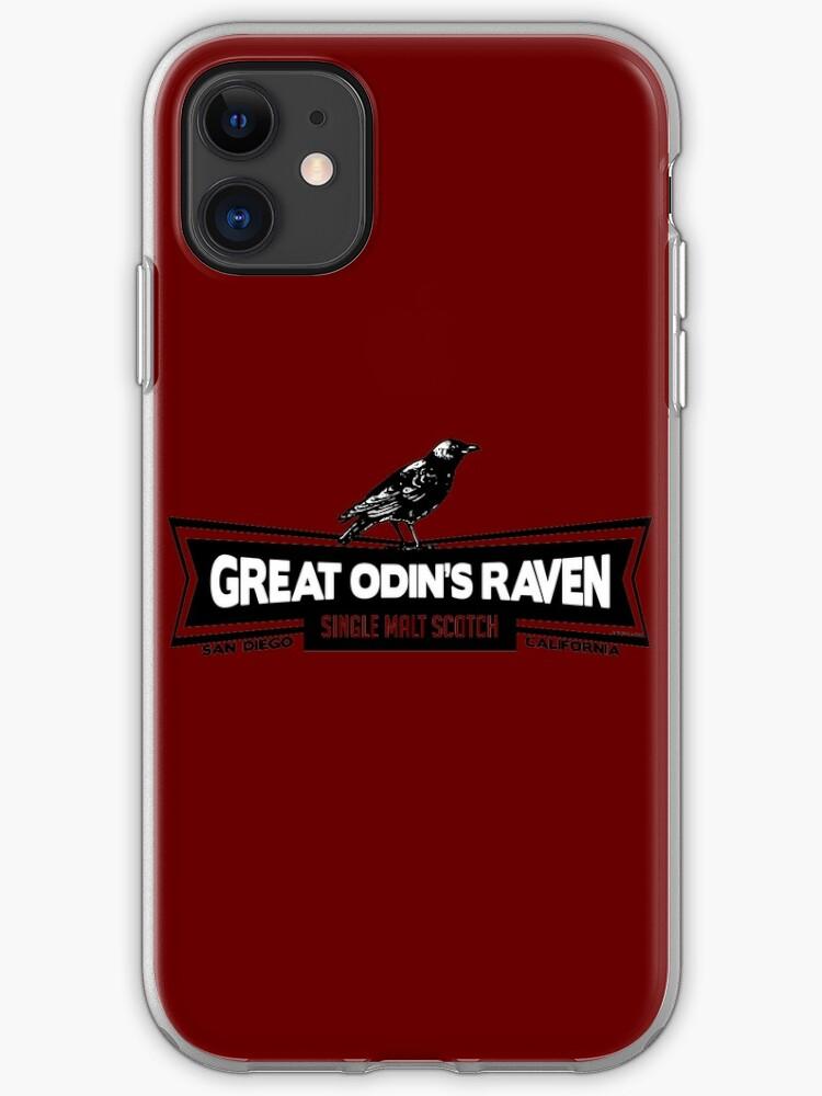Odin's Raven iPhone 11 case