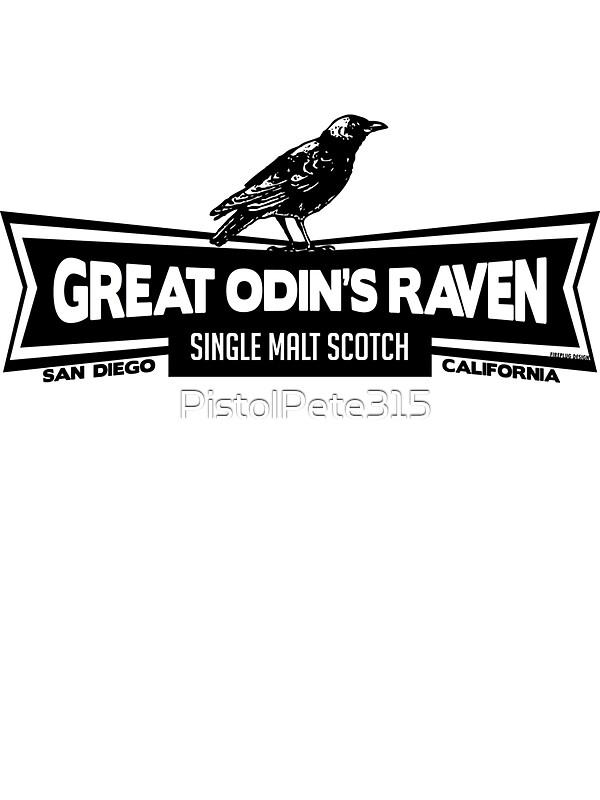 Quot Great Odin S Raven Single Malt Scotch Quot Stickers By