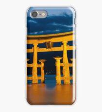 Itsukushima Shrine iPhone Case/Skin