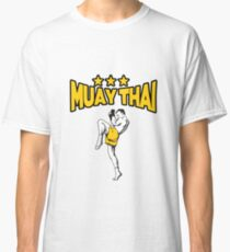 MMA Muay Thai - Kickboxing - Mixed Martial Arts - Star - Fighter Gift - Fighting Classic T-Shirt
