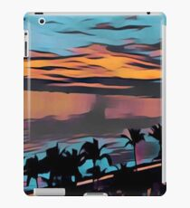 Abstract landscape, digital painting, modern,trendy,contemporary art iPad Case/Skin