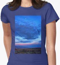 Desert Dusk Womens Fitted T-Shirt