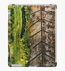 Peatland Abstract 4 iPad Case/Skin