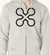 Perpetual existence Zipped Hoodie