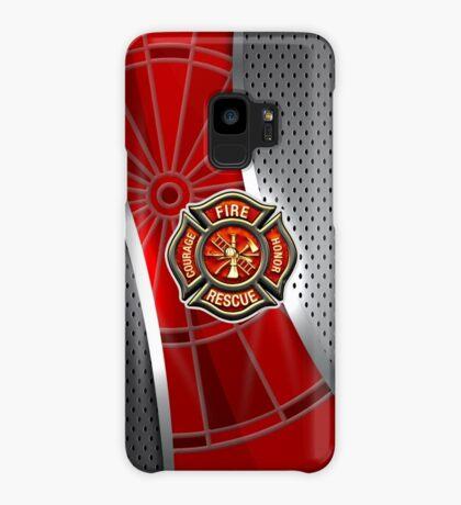 Firefighter Darts Shirt Case/Skin for Samsung Galaxy