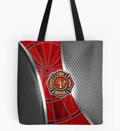 Firefighter Darts Shirt Tote Bag