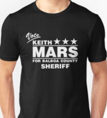 Keith Mars for Sheriff (White) T-Shirt