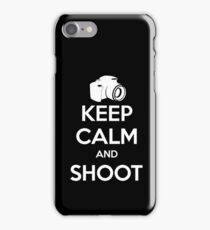 Keep Calm and Shoot iPhone Case/Skin