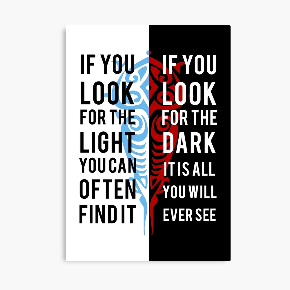 Light In The Dark Canvas Print By Spellbending Redbubble