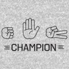 Rock Paper Scissors Champion by bravos