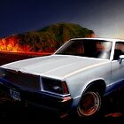 1978 El Camino onna New Zealand Beach by ChasSinklier