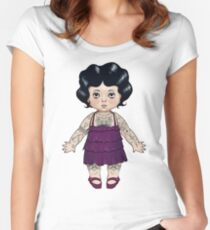 Dollie Women's Fitted Scoop T-Shirt