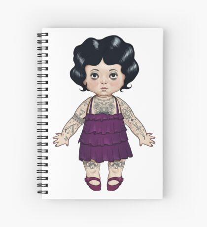 Dollie Spiral Notebook
