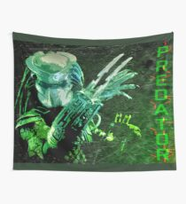 Predator Movie Poster Wall Tapestry