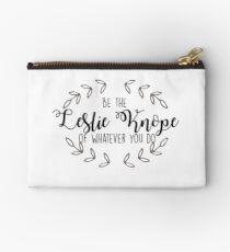 Leslie Knope - Be the Leslie Knope of Whatever You Do Studio Pouch