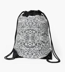 This is a big black dream Drawstring Bag