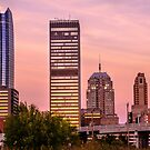 Oklahoma City Downtown Skyline at sunrise by Gregory Ballos