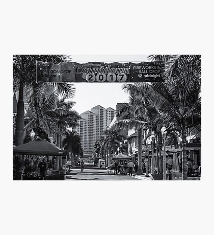 Downtown Fort Myers  Photographic Print