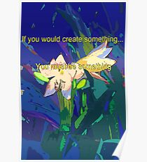 If you would create something... Poster