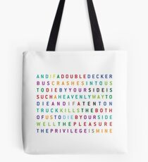 The Smiths - There is a light that never goes out Tote Bag