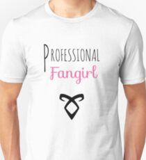 Professional Fangirl - Shadowhunter Unisex T-Shirt