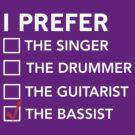 I prefer the bassist checklist by bravos