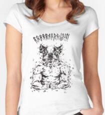 RRRAAARRGH!!  Boston Were-ier Women's Fitted Scoop T-Shirt