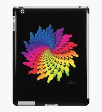 Colorful Cat Fractal 11117 iPad Case/Skin