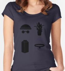 Leon The Minimal Women's Fitted Scoop T-Shirt