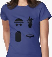 Leon The Minimal Women's Fitted T-Shirt