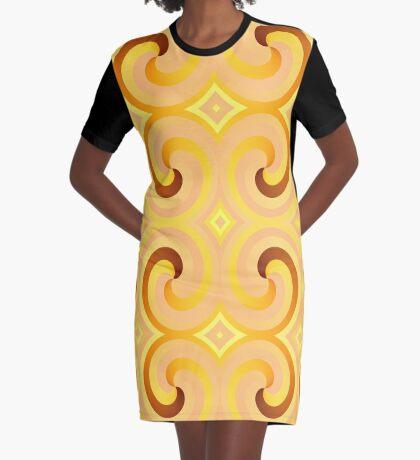 Swirls & Curls by Julie Everhart Graphic T-Shirt Dress