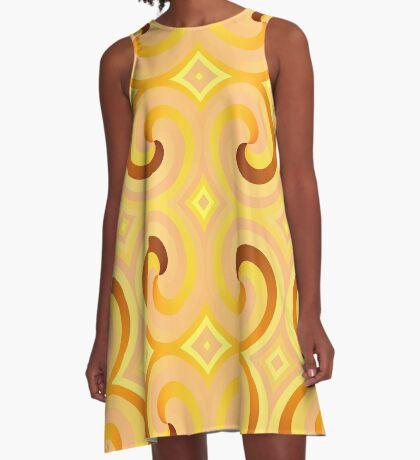 Swirls & Curls by Julie Everhart A-Line Dress