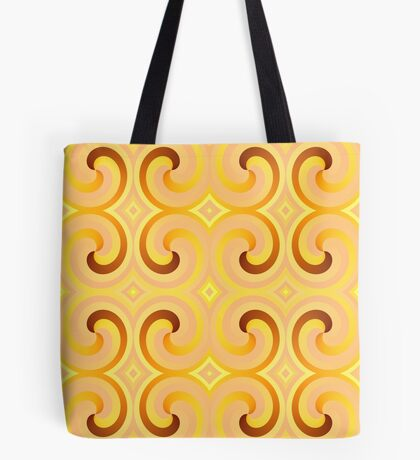 Swirls & Curls by Julie Everhart Tote Bag