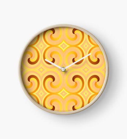 Swirls & Curls by Julie Everhart Clock