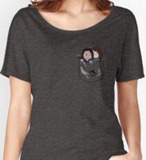 Pocket Shoot Women's Relaxed Fit T-Shirt