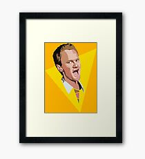 The Legend Of Barney Framed Print