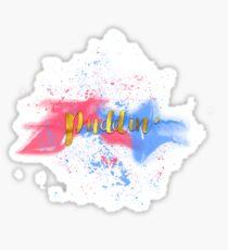Puddin' Sticker